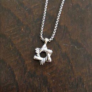 100% Authentic David Yurman Star of David necklace